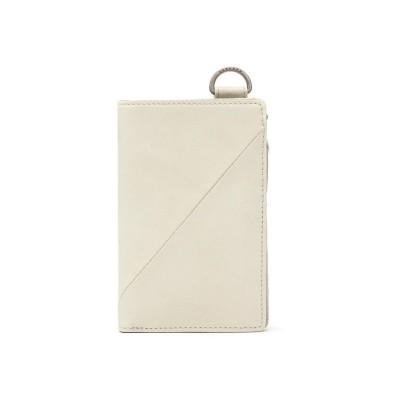 【ギャレリア】 ダブルス 財布 DOUBLES 二つ折り財布レザー 本革 DBO-7374 ユニセックス オフホワイト F GALLERIA