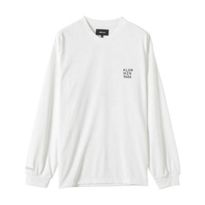 ミズノ公式 Mizuno KLON Tシャツ 長袖 ユニセックス ホワイト