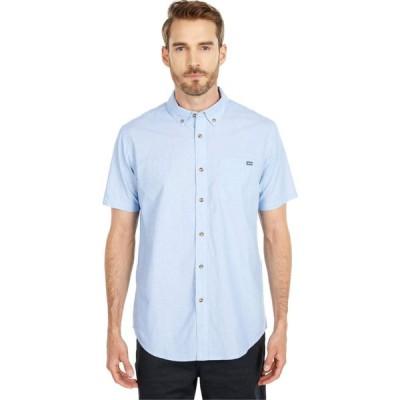 ビラボン Billabong メンズ 半袖シャツ トップス All Day Short Sleeve Woven Light Blue