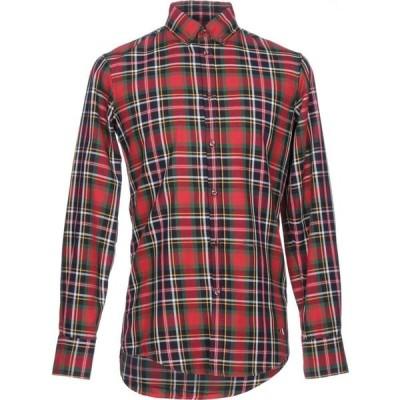 ディースクエアード DSQUARED2 メンズ シャツ トップス checked shirt Red