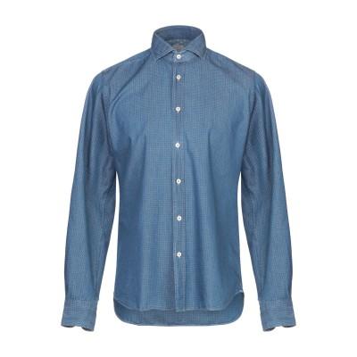 XACUS デニムシャツ ブルー 38 コットン 100% デニムシャツ