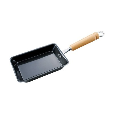 サミット工業 ミニ鍋 ミニ 玉子焼 (N) 日本製 フライパン エッグロースター 卵焼き IH対応 鉄なべ流