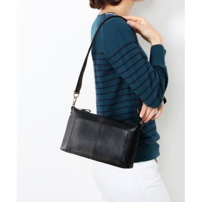 三京商会 / [HALEINE]牛革レザーショルダーバッグ日本製 WOMEN バッグ > ショルダーバッグ