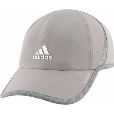 アディダス レディース 帽子 アクセサリー adidas Women's SuperLite Hat Grey/White