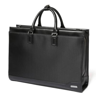 SLOTAM ビジネスバッグ メンズ ブラック PCバッグ A4対応 防水 15.6インチ 就活 仕事 通勤