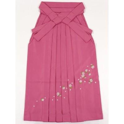 女性袴 刺繍入り 3サイズ〔ピンク〕