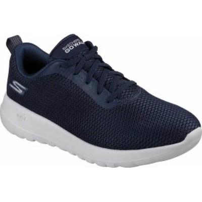 スケッチャーズ メンズ スニーカー シューズ Men's Skechers GOwalk Max Walking Shoe Navy/Gray