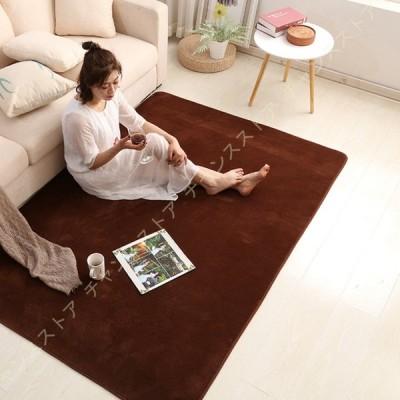 ラグ カーペット 洗える ラグマット 極厚 滑り止め マット 絨毯 オールシーズンタイプ 床暖房 ホットカーペット対応 防ダニ 防臭加工 おしゃれ かわいい 北欧