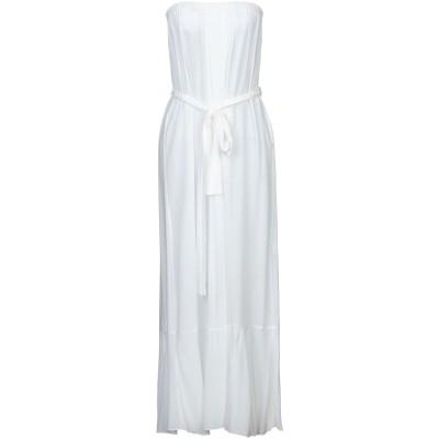 コンタット KONTATTO 7分丈ワンピース・ドレス ホワイト one size レーヨン 100% 7分丈ワンピース・ドレス