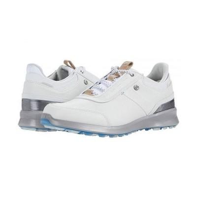 FootJoy フットジョイ レディース 女性用 シューズ 靴 スニーカー 運動靴 Stratos Spikeless Luxury Casual - Off-White