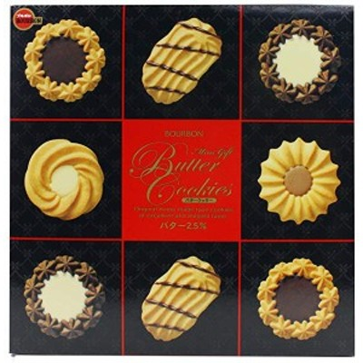 ブルボン ミニギフトバタークッキー缶 60枚入