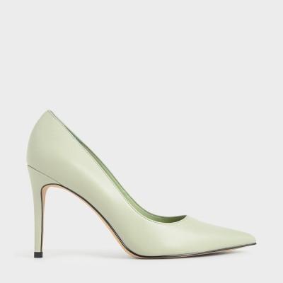 クラシックスティレットパンプス / Classic Stiletto Pumps (Mint Green)