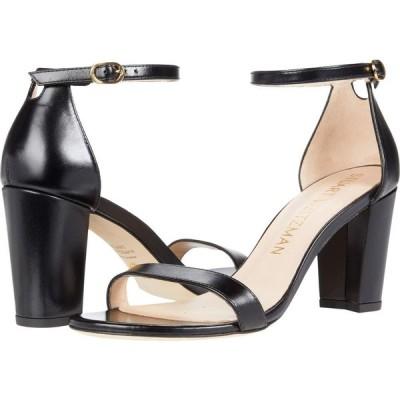 スチュアート ワイツマン Stuart Weitzman レディース サンダル・ミュール アンクルストラップ シューズ・靴 Nearlynude Ankle Strap City Sandal Black 1