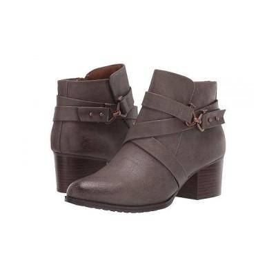 EuroSoft ユーロソフト レディース 女性用 シューズ 靴 ブーツ アンクル ショートブーツ Witlee - Grey