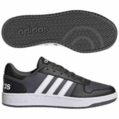 アディダス ADIHOOPS 2.0 U コアブラック×フットウェアホワイト×グレーシックス  adidas FY8626