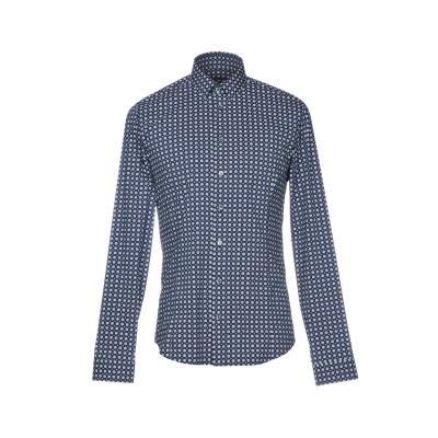 パトリツィア ペペ PATRIZIA PEPE シャツ ブルー 50 コットン 72% / ナイロン 24% / ポリウレタン 4% シャツ