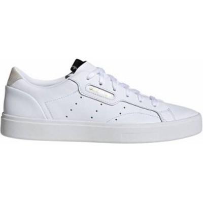 アディダス レディース スニーカー シューズ adidas Women's Sleek Shoes White/White