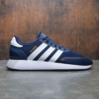 アディダス Adidas メンズ スニーカー シューズ・靴 Iniki Runner N-5923 navy/footwear white/core black