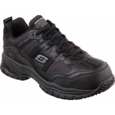 スケッチャーズ メンズ スニーカー シューズ Men's Skechers Work Relaxed Fit Soft Stride Grinnell CT Shoe Black