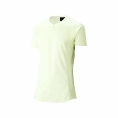 [ゴールドステージ]スクールブレードゲームシャツ(アイボリ)【ASICS】アシックス(BAS101-02)