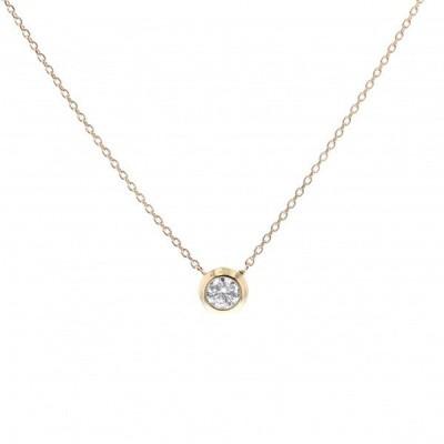 エクラ ネックレス イエローゴールド ダイヤモンド ECL001YGM 0.3ct 新品 ジュエリー