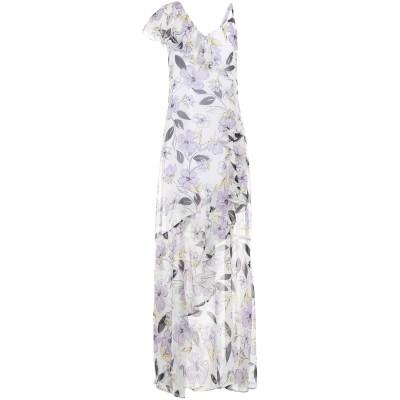 MARTA STUDIO ロングワンピース&ドレス ホワイト 40 シルク 100% ロングワンピース&ドレス