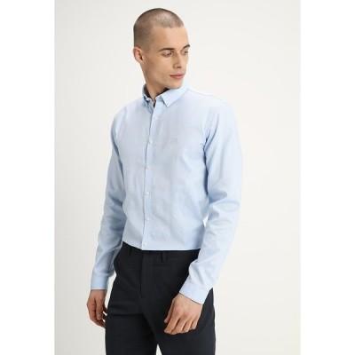 リンドーバーグ シャツ メンズ トップス OXFORD - Shirt - light blue