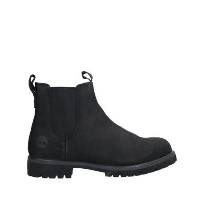 ティンバーランド TIMBERLAND ショートブーツ ブラック 10.5 革 / 紡績繊維 ショートブーツ
