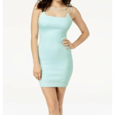 GUESS ゲス ファッション ドレス Guess Womens Blue Size Small S Sheath Gillian Strappy Bodycon Dress