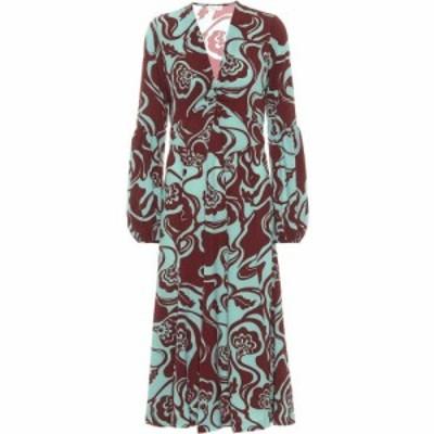 ドリス ヴァン ノッテン Dries Van Noten レディース ワンピース ミドル丈 ワンピース・ドレス floral midi dress Mint