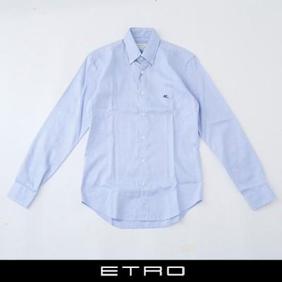 ETRO(エトロ) ボタンダウンシャツ サックス系 13864 6004 250