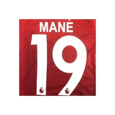 子供用 K010 リバプール MANE*19 マネ 赤 18 ゲームシャツ パンツ付 ジュニア ユニフォーム