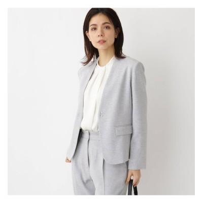 【アクアガール/aquagirl】 【ママスーツ/入学式 スーツ/卒業式 スーツ】カラーレスジャケット