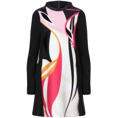 ビブロス BYBLOS ミニワンピース&ドレス ブラック 40 ポリエステル 94% / ポリウレタン 6% ミニワンピース&ドレス