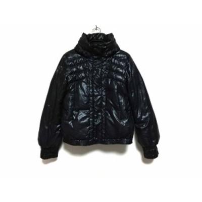 アンシャントマン ENCHANTEMENT...? ダウンジャケット サイズ38 M レディース - 黒 長袖/冬【中古】20200606