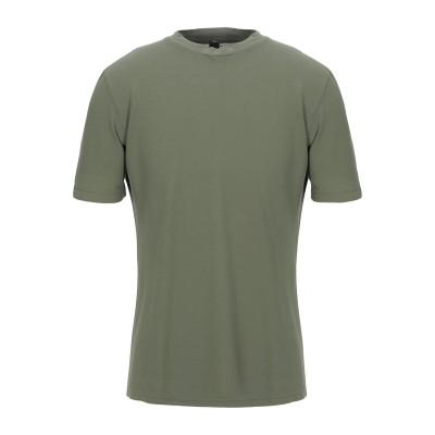 MAXI HO T シャツ ミリタリーグリーン 54 コットン 100% T シャツ