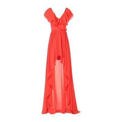 レリッシュ RELISH ミニワンピース&ドレス レッド XS ポリエステル 100% ミニワンピース&ドレス