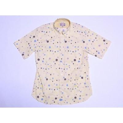 Dry Bones[ドライボーンズ] ボタンダウンシャツ 半袖 DS-1839 Irregular Dot BD Shirt (CREAM)