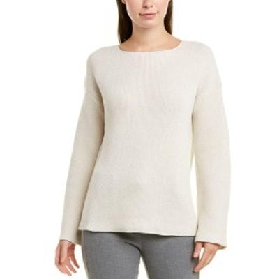 ラファイエットワンフォーエイト レディース ニット&セーター アウター Lafayette 148 New York Textured Stitch Cashmere & Silk-Blend