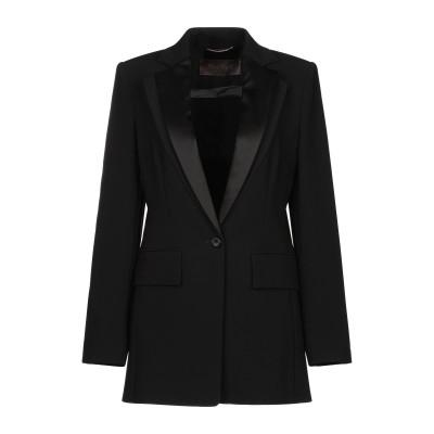 マックスマーラ MAX MARA テーラードジャケット ブラック 48 トリアセテート 70% / ポリエステル 30% テーラードジャケット