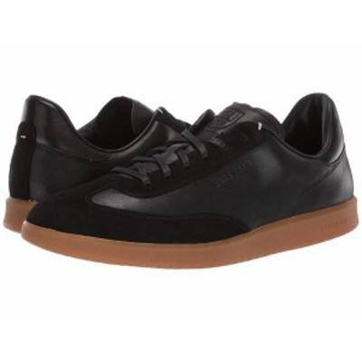 コールハーン メンズ スニーカー シューズ Grandpro Turf Sneaker Black Tumbled/Black Suede