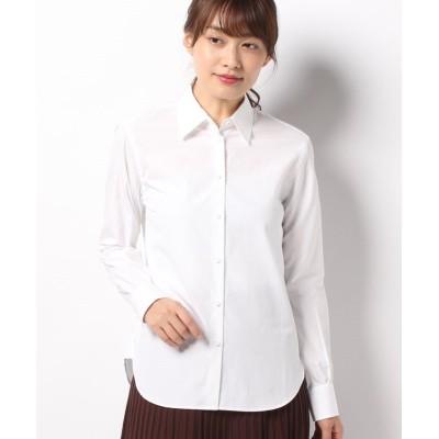 【アルアバイル】 ベーシックシャツ レディース オフホワイト 02 allureville