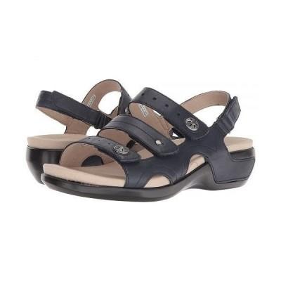 Aravon アラヴォン レディース 女性用 シューズ 靴 サンダル PC Three Strap - Navy Leather