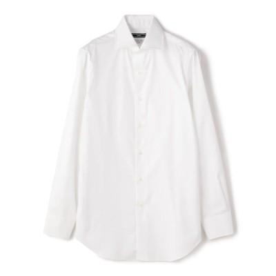 【シップス/SHIPS】 SD: ALBINI ツイル ソリッド ワイドカラーシャツ