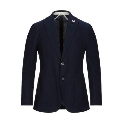 TOMBOLINI テーラードジャケット ダークブルー 50 コットン 100% テーラードジャケット