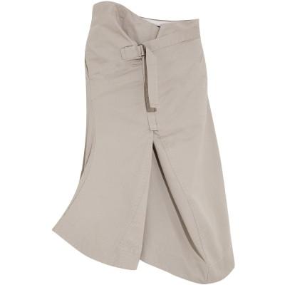 ベイシーク BASSIKE デニムスカート グレー XS/S コットン 100% デニムスカート