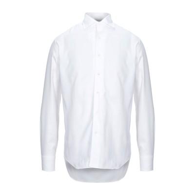 ALESSANDRO GHERARDI シャツ ホワイト 40 コットン 100% シャツ