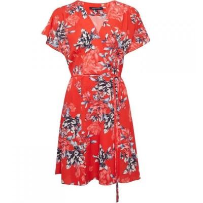 フレンチコネクション French Connection レディース ワンピース ワンピース・ドレス Coletta Printed Dress Flame