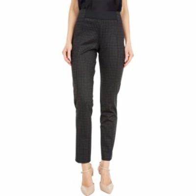 エリオットローレン Elliott Lauren レディース ボトムス・パンツ Check it Out Pull-On Pants with Exposed Elastic Detail Grey Multi
