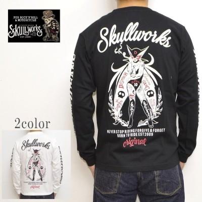 スカルワークス ドロンジョ SKULL WORKS TPY-12 長袖Tシャツ ロンT タトゥードロンジョ メンズ